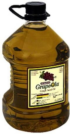 Grapeola Grape Seed Oil All Natural 101 Oz