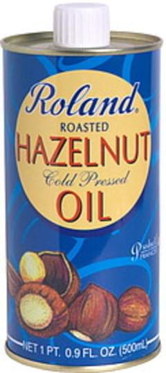 Roland Hazelnut Oil Roasted 16.9 Oz