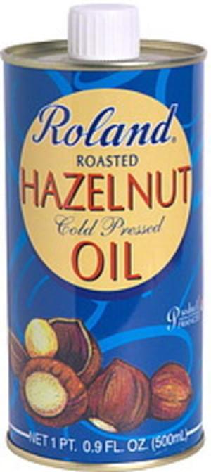 Roland Roasted 16.9 Oz Hazelnut Oil - 12 pkg
