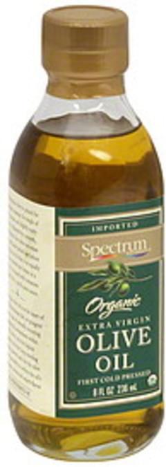 Spectrum Oil Naturals Extra Virgin Olive 8 Oz