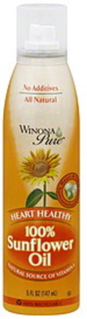 Winona Pure Sunflower 5 Oz Oil - 12 pkg