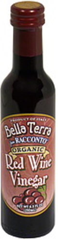 Bella Terra Organic Vinegar Red Wine 8.5 Oz