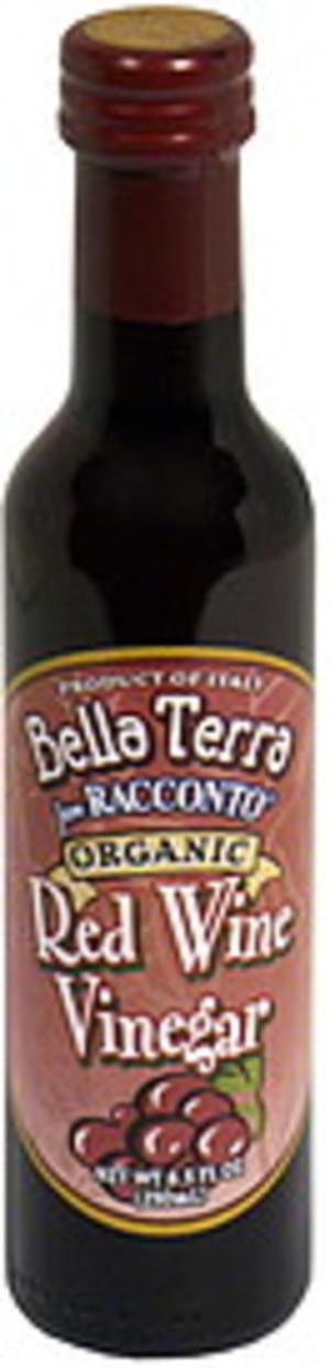 Bella Terra Organic Red Wine 8.5 Oz Vinegar - 6 pkg