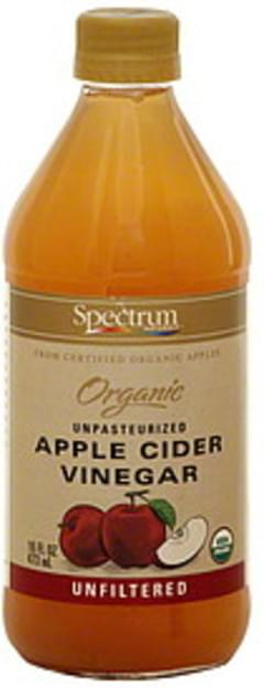 Spectrum Vinegar Naturals Unpasteurized Apple Cider Unfiltered 16 Oz