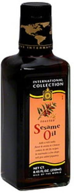 International Collection Sesame Oil Toasted 8.45 Oz