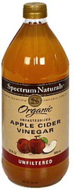 Spectrum Apple Cider Vinegar Unfiltered 32 Oz