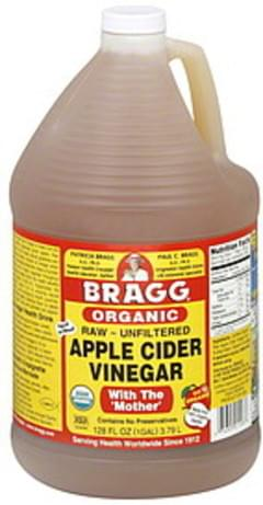 Bragg Vinegar Organic Apple Cider 1 Gal