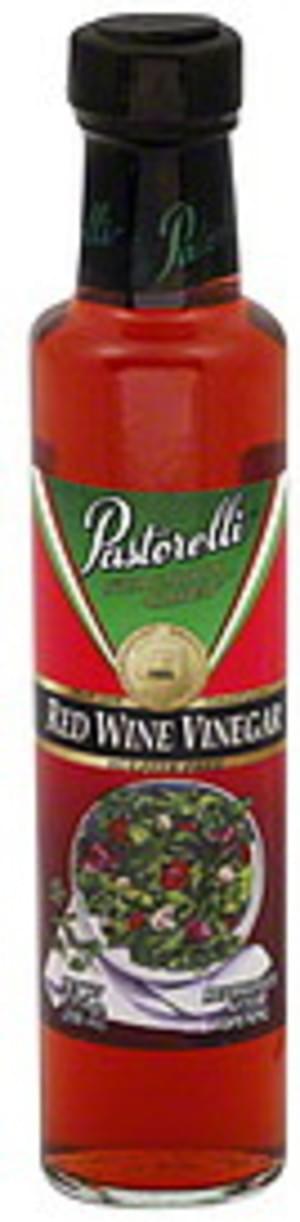 Pastorelli Sulfite Free 8.5 Oz Red Wine Vinegar - 6 pkg
