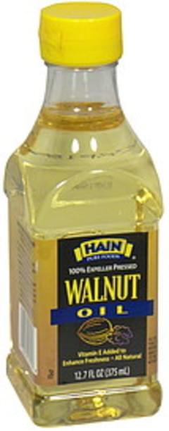 Hain Pure Foods Oil Walnut 12.7 Oz