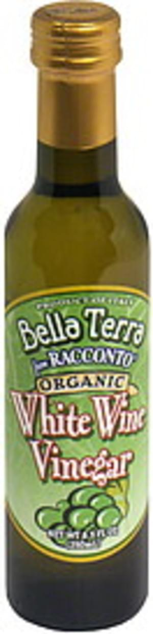 Bella Terra Organic White Wine 8.5 Oz Vinegar - 6 pkg