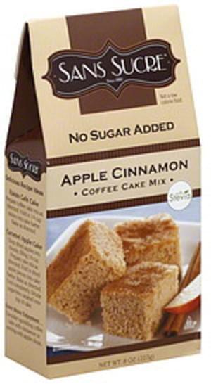 Sans Sucre Apple Cinnamon Coffee 8 Oz Cake Mix - 6 pkg