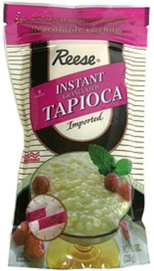 Reese Instant Granulated 8 Oz Tapioca - 6 pkg