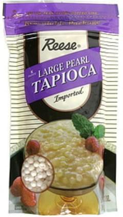 Reese Tapioca Large Pearl 7 Oz
