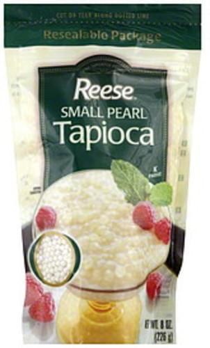 Reese Small Pearl 8 Oz Tapioca - 0 pkg