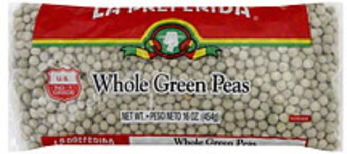 La Preferida Peas Whole Green