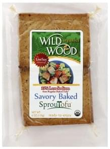 Wild Wood Baked Tofu Savory