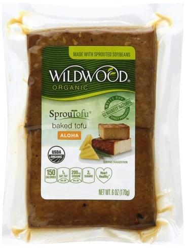 Wildwood Baked, Organic, Aloha Tofu - 6 oz
