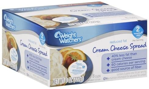 Weight Watchers Reduced Fat Cream Cheese Spread - 8 ea