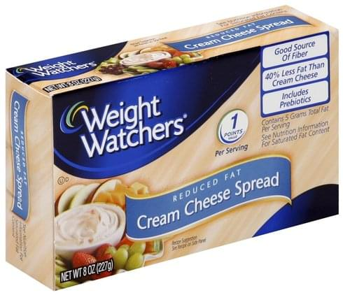 Weight Watchers Reduced Fat Cream Cheese Spread - 8 oz