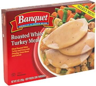 Banquet Roasted White Turkey Meal