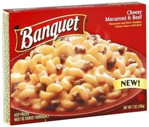Banquet Cheesy Macaroni & Beef