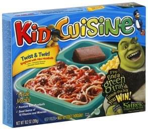 Kid Cuisine Spaghetti with Mini Meatballs Twist & Twirl