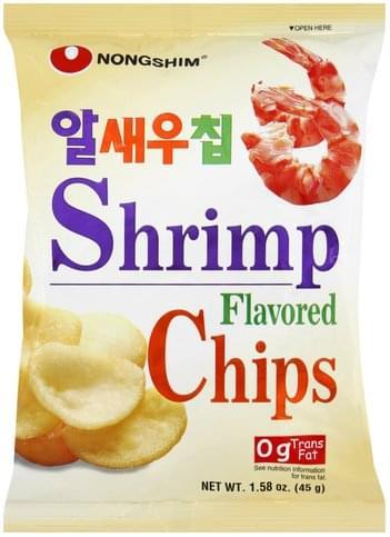 Nongshim Shrimp Flavored Chips - 1.58 oz
