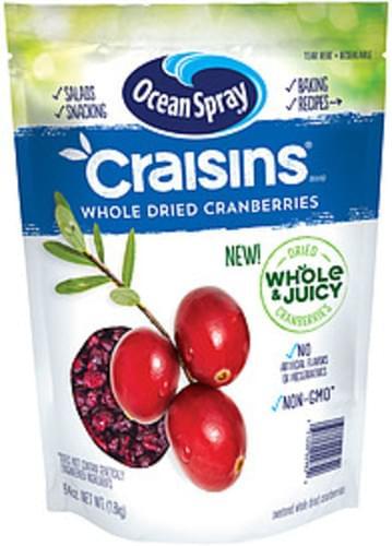 Craisins Whole Dried Ocean Spray