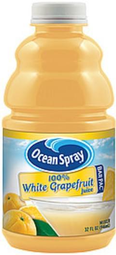 Ocean Spray Bar Pac Mixer 100% White Grapefruit Juice