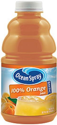 Ocean Spray Bar Pac Mixer 100% Orange Juice