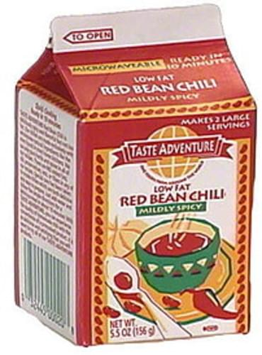 Taste Adventure Red Bean Chili, Mildly Spicy - 5.5 oz