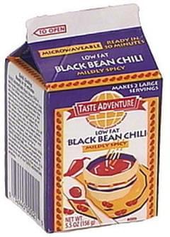 Taste Adventure Black Bean Chili, Mildly Spicy