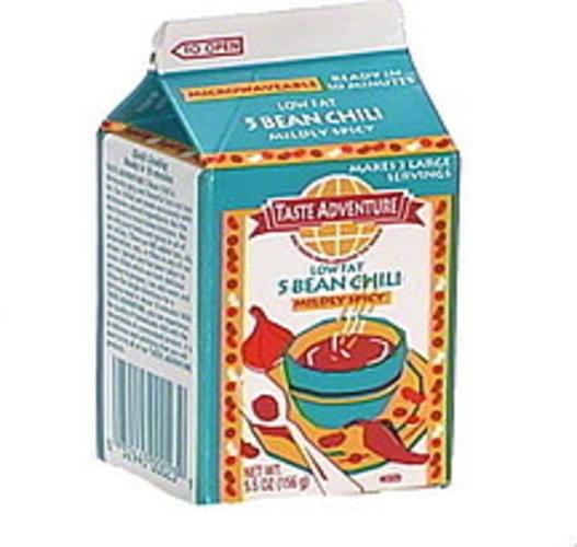 Taste Adventure 5 Bean Chili, Mildly Spicy - 5.5 oz
