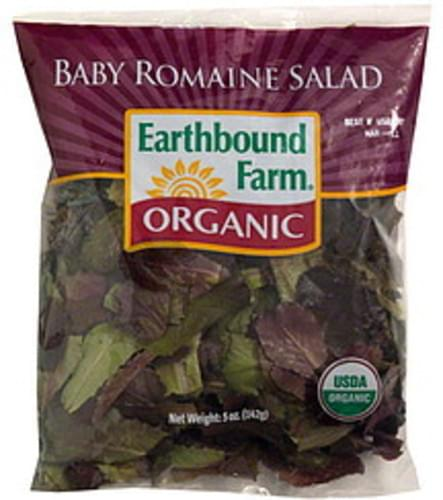 Earthbound Farm Organic Baby Romaine Salad - 5 oz