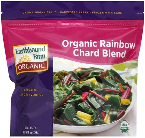 Earthbound Farm Organic Rainbow Chard Blend 9 Oz Nutrition Information Innit