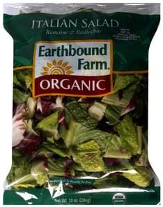 Earthbound Farm Italian Salad Romaine & Radicchio
