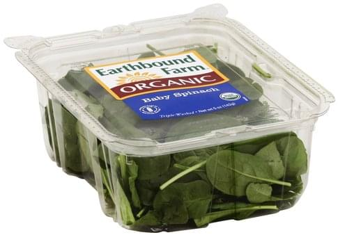 Earthbound Farm Baby Spinach - 5 oz