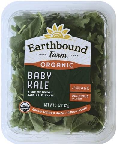 Earthbound Farm Organic Baby Kale - 5 oz