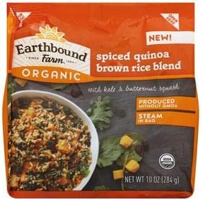 Earthbound Farm Brown Rice Blend Spiced Quinoa