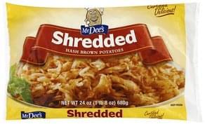 Mr. Dees Hash Brown Potatoes Shredded