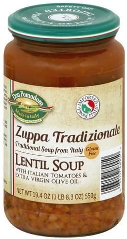 Don Pomodoro Lentil Soup - 19.4 oz