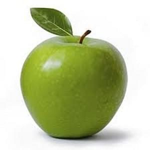 USDA Granny Smith Apple raw with skin