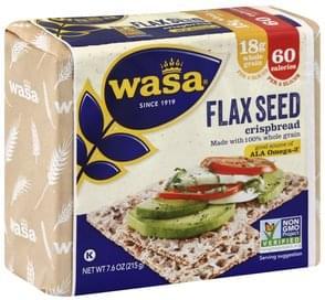Wasa Crispbread Flax Seed