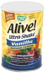 Natures Way Ultra-Shake Vanilla