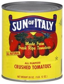 Sun of Italy Tomatoes Crushed, All Purpose