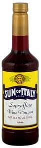 Sun of Italy Wine Vinegar Spraffino