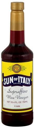 Sun of Italy Spraffino Wine Vinegar - 25.4 oz