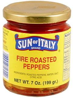 Sun of Italy Fire Roasted Peppers