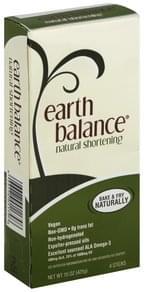 Earth Balance Shortening Natural
