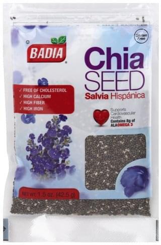 Badia Chia Seed - 1.5 oz